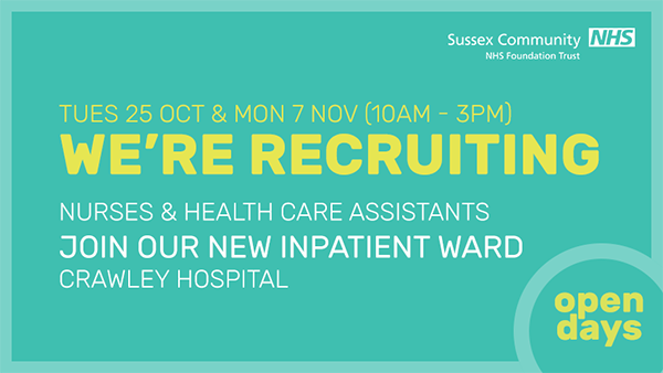 Crawley Recruitment Days