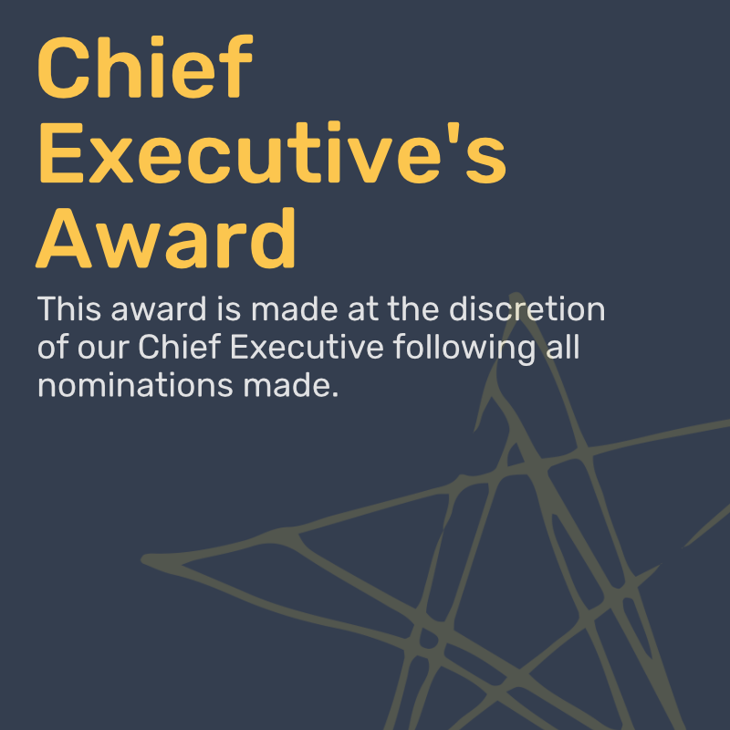 Chief Executive's Award
