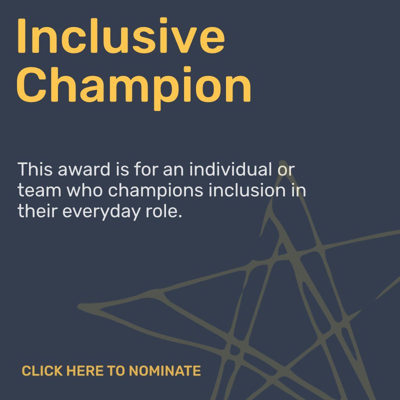 Inclusive Champion Award