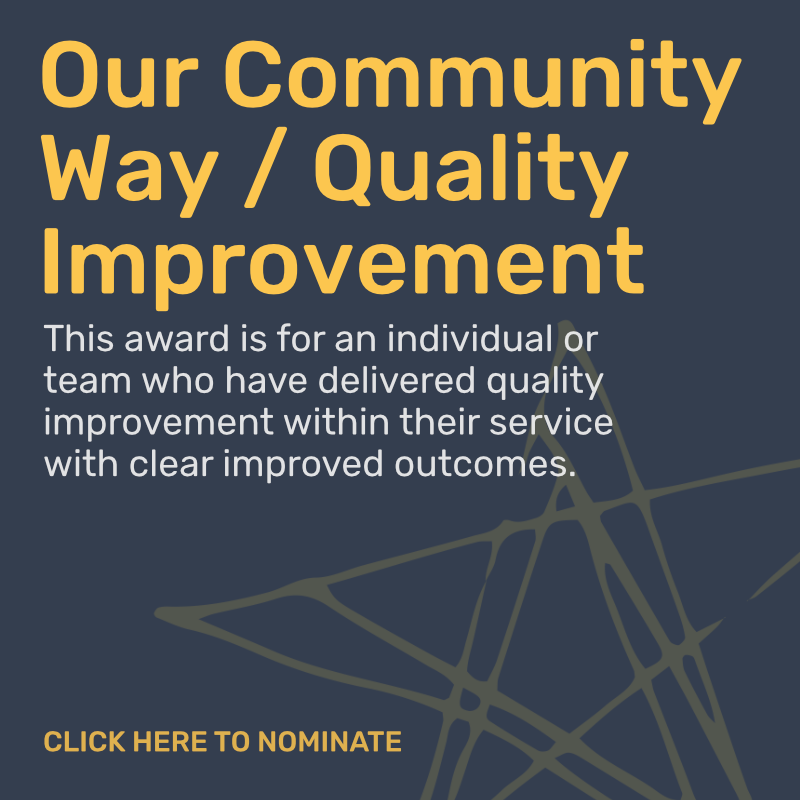 Quality Improvement Award