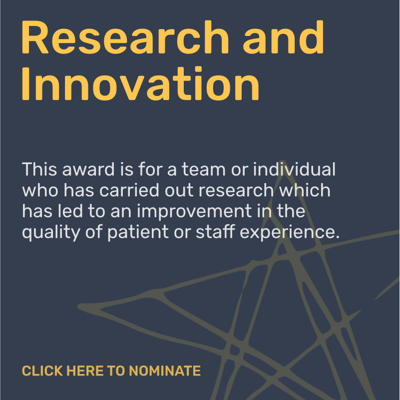 Research and Innovation Award